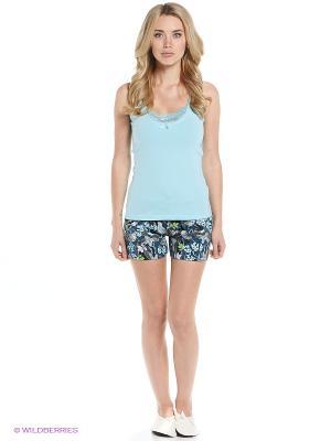 Пижама PELICAN. Цвет: голубой, синий
