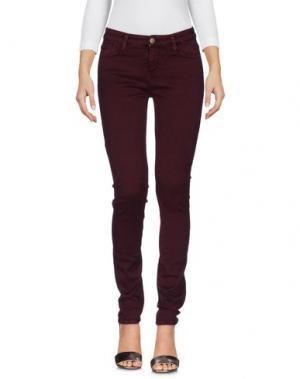 Джинсовые брюки BA&SH. Цвет: баклажанный