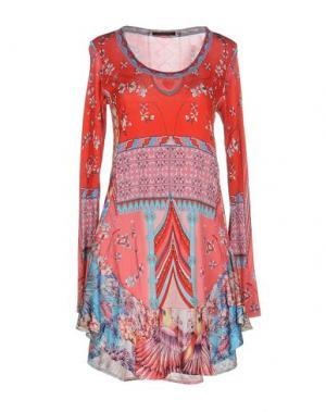 Короткое платье CUSTO BARCELONA. Цвет: красный
