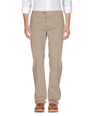 Повседневные брюки TELERIA ZED. Цвет: бежевый
