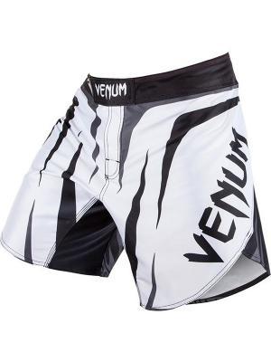 Шорты ММА Venum Sharp Ice/Black. Цвет: белый