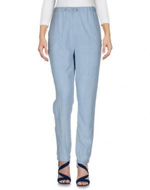 Джинсовые брюки WOOLRICH. Цвет: небесно-голубой