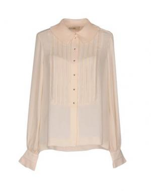 Pубашка ORLA KIELY. Цвет: бежевый