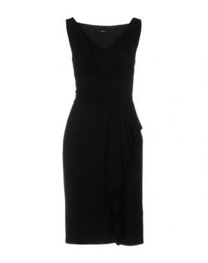 Платье до колена EMME by MARELLA. Цвет: черный