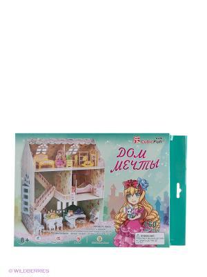 Пазл Дом мечты CubicFun. Цвет: розовый, зеленый