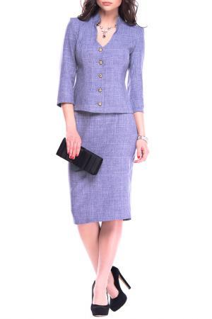 Комплект MAURINI. Цвет: фиолетовый, дымка