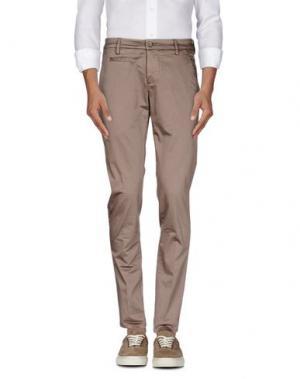 Повседневные брюки DONDUP. Цвет: хаки