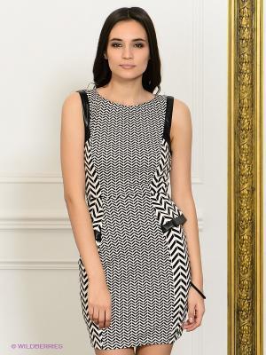 Платье NikiBiki. Цвет: белый, черный
