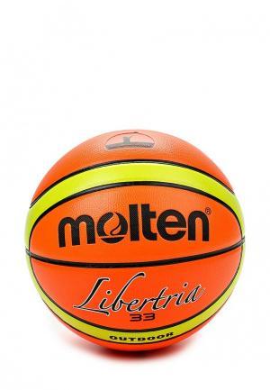 Мяч баскетбольный Molten. Цвет: разноцветный