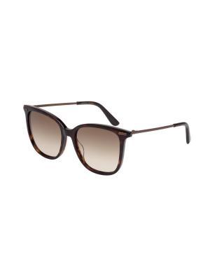 Солнцезащитные очки Bottega Veneta. Цвет: коричневый