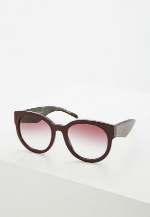 Очки солнцезащитные Burberry. Цвет: фиолетовый