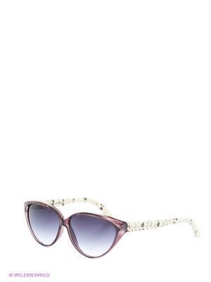 Солнцезащитные очки TOUCH. Цвет: молочный, бордовый