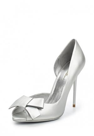 Туфли Just Couture. Цвет: серебряный