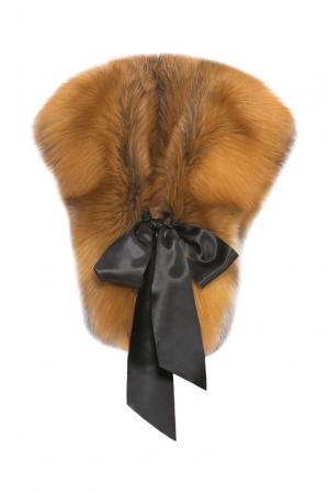 Воротник из меха лисы 153062 Kaminsky. Цвет: оранжевый