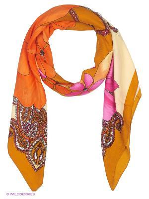 Платок Stilla s.r.l.. Цвет: оранжевый