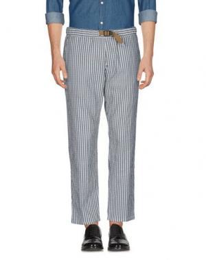 Повседневные брюки WHITE SAND 88. Цвет: стальной серый