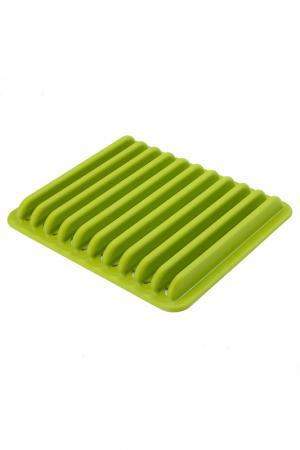 Сушилка для посуды UMBRA. Цвет: зеленый