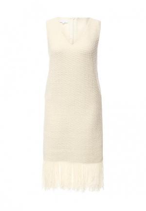 Платье Escada Sport. Цвет: бежевый