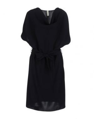 Платье до колена SOUVENIR. Цвет: темно-синий