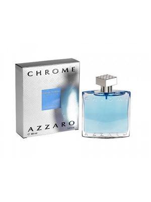 Chrome, Туалетная вода, 100мл Azzaro. Цвет: голубой, серебристый