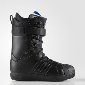 Сноубордические ботинки Superstar ADV  Originals adidas. Цвет: черный