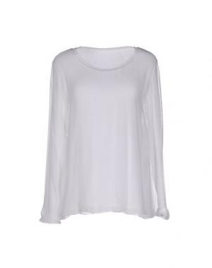 Блузка EUROPEAN CULTURE. Цвет: белый
