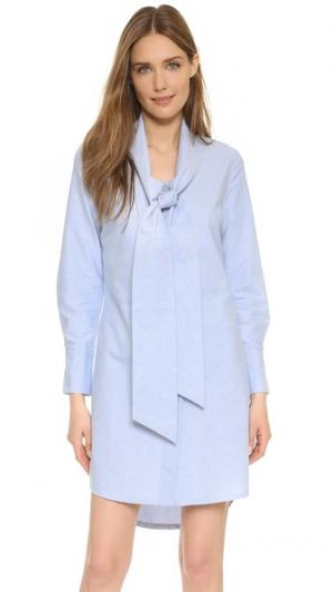 Платье Sophie RUKEN. Цвет: синий оксфорд