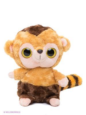 Юху и друзья Игрушка мягкая Обезьяна Капуцин Aurora. Цвет: желтый, коричневый