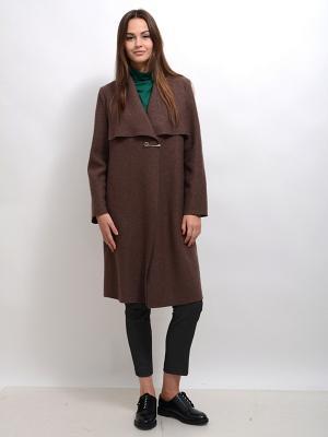Пальто Дарсия LINO RUSSO. Цвет: коричневый