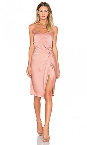 Платье georgia NBD. Цвет: rose