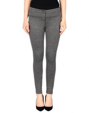 Повседневные брюки TO-MAY. Цвет: серый