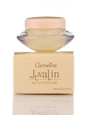 Jevalin Solid Perfume - Сухие духи с природными феромонами от Giffarine. Цвет: белый