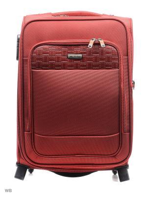 Чемодан JS-BAGS. Цвет: красный