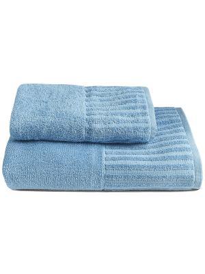Полотенце BONITA. Цвет: голубой