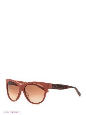 Солнцезащитные очки MI 800S 02 Missoni. Цвет: терракотовый