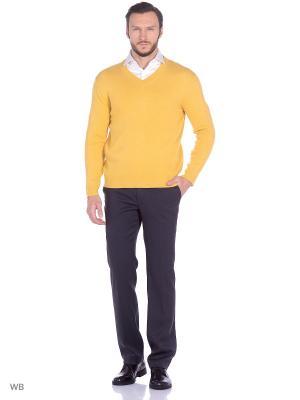 Пуловер Fine Joyce. Цвет: светло-оранжевый, желтый