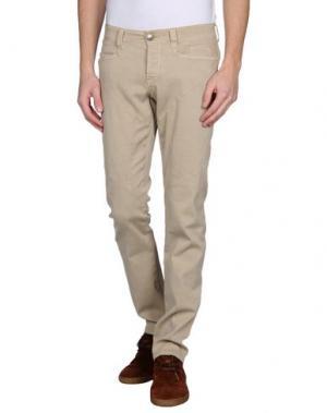 Повседневные брюки 9.2 BY CARLO CHIONNA. Цвет: бежевый