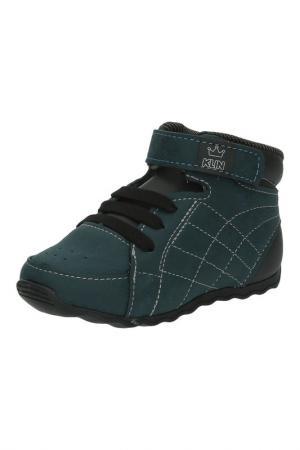Ботинки KLIN. Цвет: зеленый