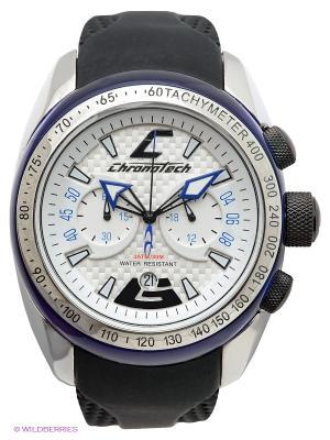 Часы Chronotech. Цвет: черный, синий, серебристый, белый