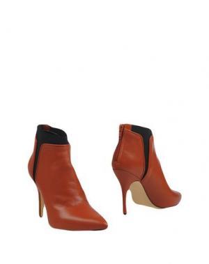 Полусапоги и высокие ботинки GIAMPAOLO VIOZZI. Цвет: ржаво-коричневый