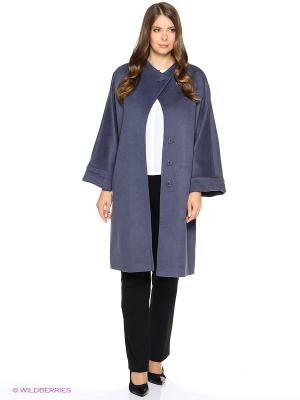 Пальто FORTUNA. Цвет: серо-голубой