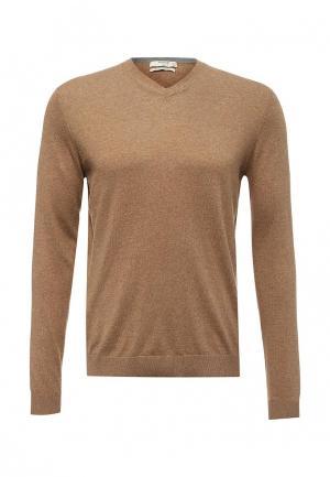 Пуловер Mango Man. Цвет: коричневый