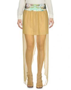 Длинная юбка F**K PROJECT. Цвет: желтый