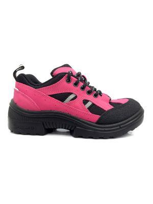Ботинки KUOMA. Цвет: фуксия