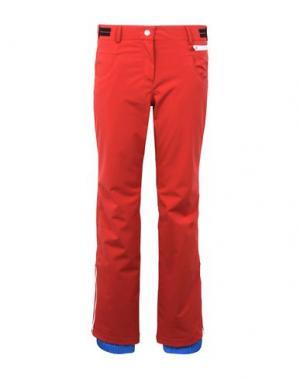Лыжные брюки ROSSIGNOL. Цвет: красный