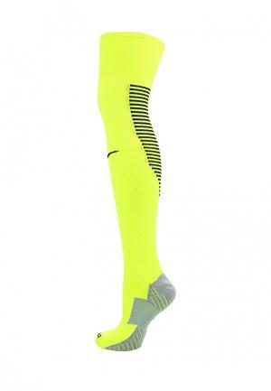 Гетры Nike. Цвет: желтый