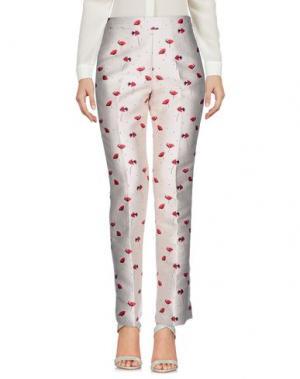 Повседневные брюки GIAMBATTISTA VALLI. Цвет: светло-серый