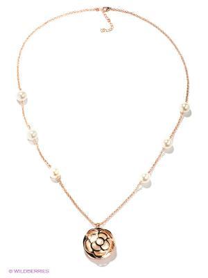 Колье Royal Diamond. Цвет: золотистый, белый