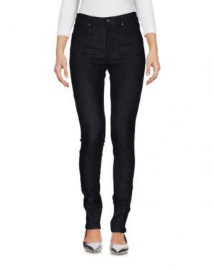 Джинсовые брюки CIVIDINI. Цвет: синий