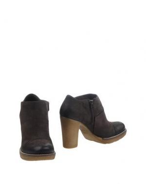 Ботинки DONNA PIÙ. Цвет: темно-коричневый